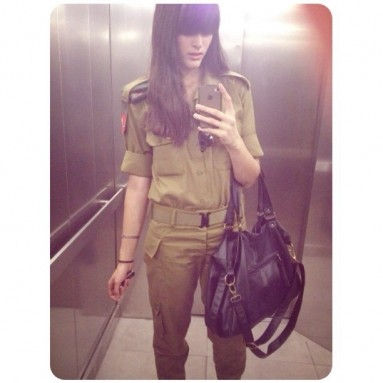 IDF soldier on Instagram